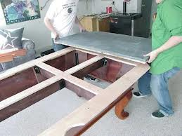 Pool table moves in State College Pennsylvania